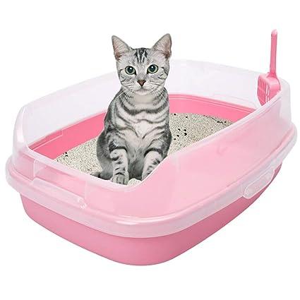 QIQI 62 * 46 * 23 Cm Caja De Arena para Gatos Artículos De ...