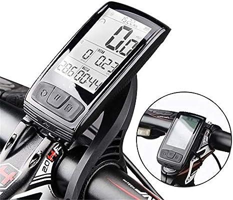 Cuentakilómetros para Bicicleta Cronómetro de bicicletas Bluetooth ...