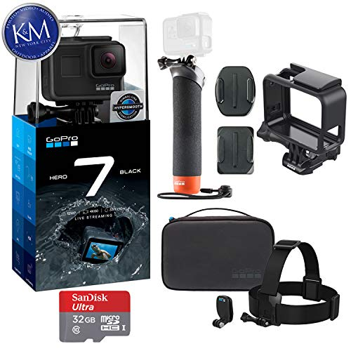 GoPro Hero 7 (Black) Action Camera with GoPro Adventure, used for sale  Delivered anywhere in USA