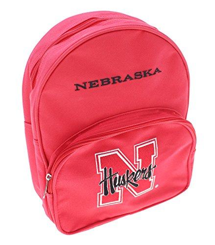 Nebraska Cornhuskers NCAA Kids Mini Backpack, Red