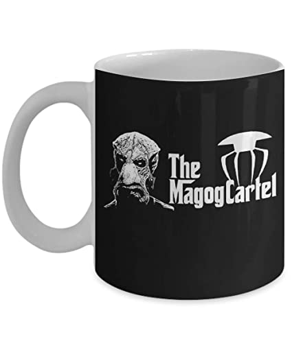 Amazon.com: The Godfather The Magog Cartel Coffee Mug, Funny ...