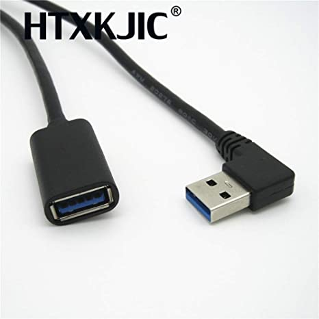 0.3m USB 3.0 Type Male To Female Extension Data Sync Cable Extender Cord Cable