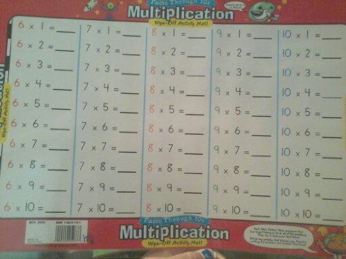(Multiplication (Wipe-Off Activity Mats))