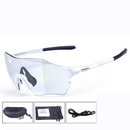 Shisky Gafas Deportivas, Que cambian de Color al Aire Libre de Lentes Deportivas Gafas Gafas