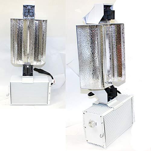 9TRADING Lot Two 1000W Double End Open Phantom Style Reflector MH HPS Grow Light System (Phantom 400 Watt Ballast)