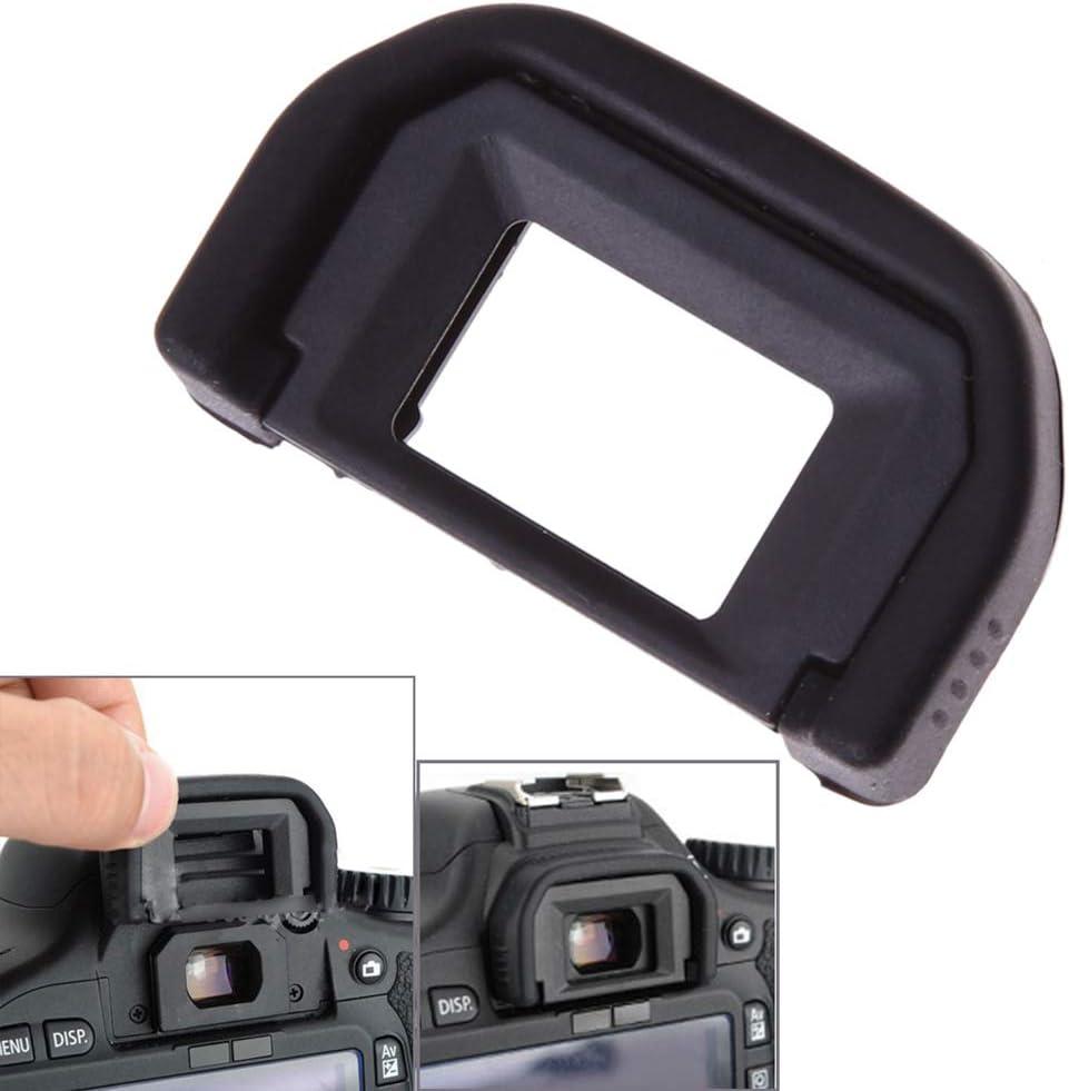 ZERIRA 2 Packs Viewfinder Camera Eyecup Eyeshade for Canon EOS 77D 100D 200D 300D 350D 400D 450D 500D 550D 600D 650D 700D 750D 760D 1000D 1200D