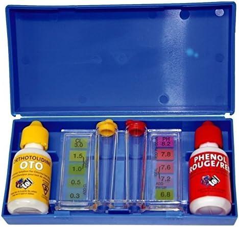Toi 4861 - Kit medidor de Ph y cloro para piscinas, 47 x 37 x 2 cm ...
