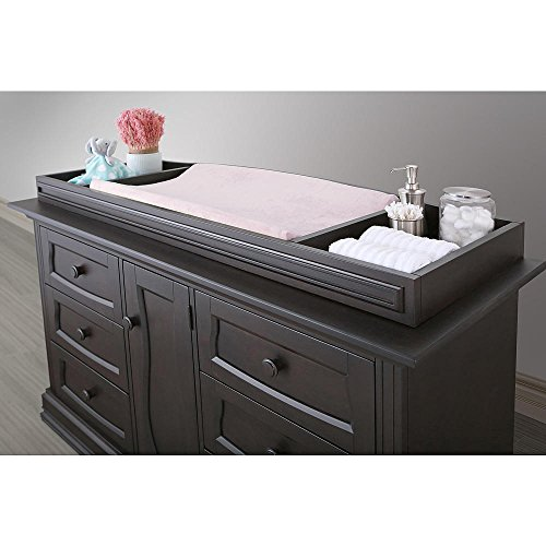 eco chic furniture loveland amazoncom eco chic baby dorchester changing topper in slate finish