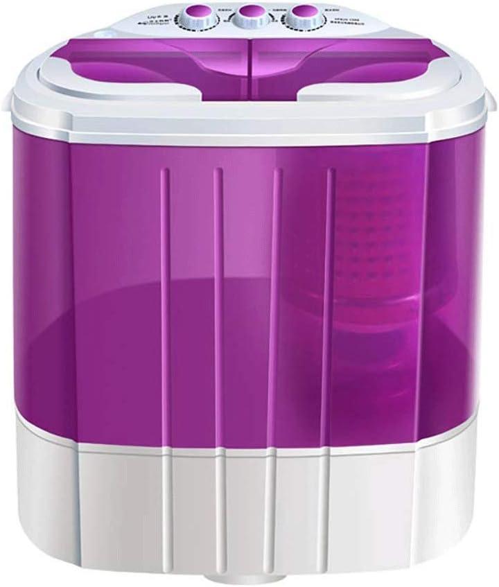 XHCP Lavadora portátil Mini Lavadora compacta compacta de Doble bañera Capacidad de 13 LB con Secadora, Lavadora de Ropa pequeña y Liviana para Apartamentos, dormitorios, Casas rodantes