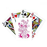 beatChong Lotus Leaf Lotus Flower Lotus Root Fish Water Poker Playing Card Tabletop Board Game Gift