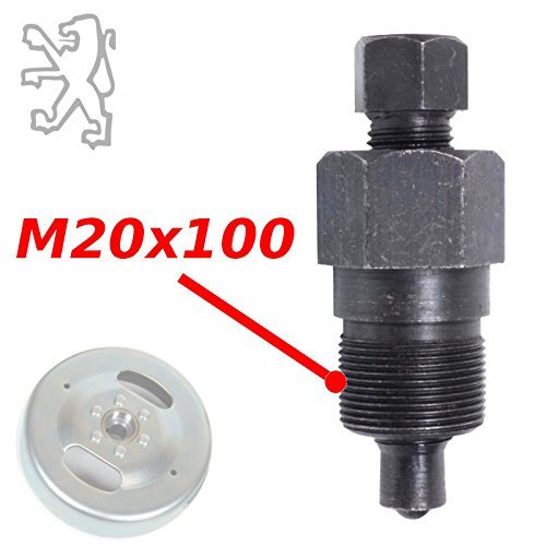 FLYWHEEL EXTRACTOR PULLER 20x100 M20 PEUGEOT 102 102 103 104 BB GT10 MOTOR SCOOTER MOPED MOTORCYCLE MOTORBIKE QUAD TOOL END 20MM ()