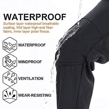 Jessie Kidden Waterproof Trousers Women Winter Softshell Windproof Fleece Lined Outdoor Walking Hiking Climbing Camping Pants