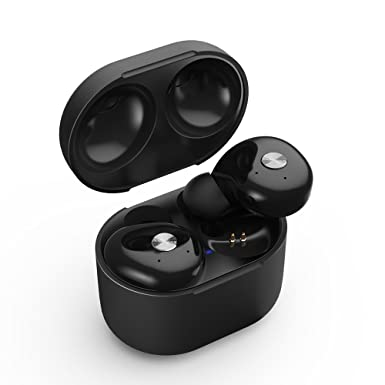 a09d605561b True Wireless Earbuds, iyesku Sports Bluetooth Headphones with Portable  Charging Case, Premium Sound Anti