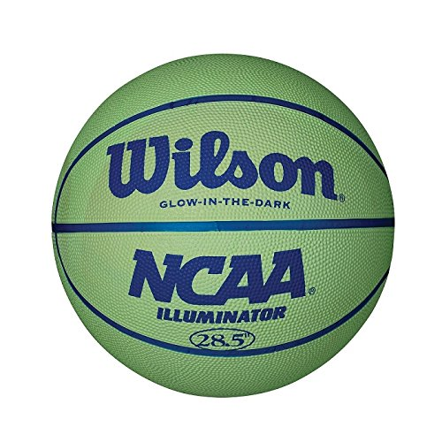 "Wilson NCAA Illuminator, Glow in the Dark Basketball, 28.5"" WTB1613"