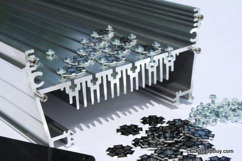 MakersLED Designer Heatsink Kit - Professional Grade - Anodized 36 Inches by LEDGroupBuy (Image #5)