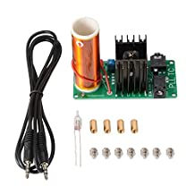 XCSOURCE Mini Tesla Coil Plasma Music Speaker Kit 15-24V 15W DIY Electronic Field Arc Light Wireless Transmission TE763