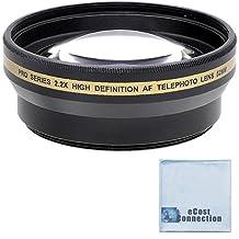 Pro series 52mm 2.2x High Definition AF Telephoto Lens + Microfiber Cloth For Nikon 18-55mm 3.5-5.6G ED II AF-S DX Zoom-Nikkor, 40mm 2.8G AF-S DX Micro-Nikkor, 40mm 2.8G AF-S DX Micro-Nikkor, 55-200mm 4-5.6G ED AF-S DX Autofocus, AF NIKKOR 20mm 2.8D, AF-S DX Micro NIKKOR 85mm 3.5G ED VR, AF-S DX VR Zoom-Nikkor 55-200mm4-5.6G IF-ED, AF-S DX VR Zoom-Nikkor 55-200mm 4-5.6G IF-ED, AF-S Nikkor 35mm 1.8G DX, AF-S Nikkor 35mm 1.8G DX, Wide Angle AF Nikkor 24mm 2.8D Autofocus, Wide Angle AF Nikkor 35mm