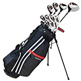Prosimmon Golf X9 Tall and 1-Inch Men's Graphite and Steel Hybrid Club Set and Bag