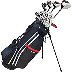 Prosimmon Golf X9 V2 Mens GRAPHITE/STEEL Hybrid Club Set & Bag