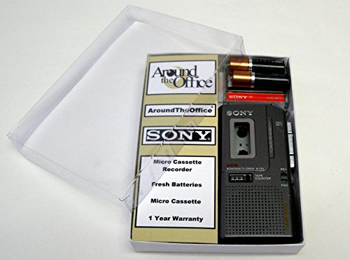 Price comparison product image Sony M-740 Microcassette handheld Voice Recorder Reboxed In Gift Box with Accessories