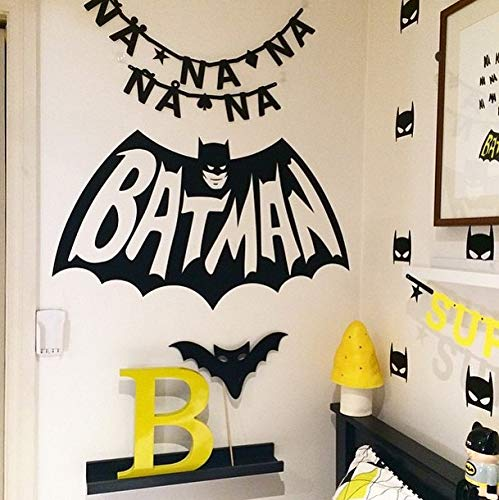 Zhihuoyou 3039 The Batman Batman Sculpture Creative Art Wall Sticker Living Room Bedroom Decorative Sticker Wholesale]()