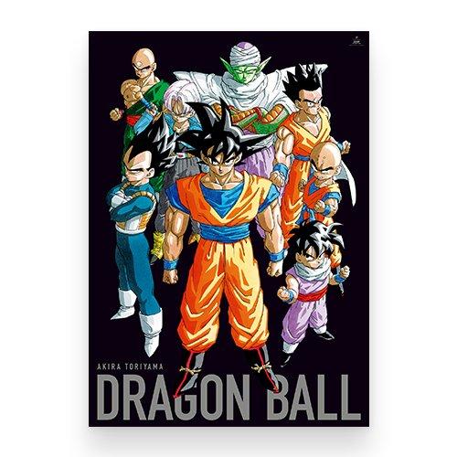 週刊少年 ジャンプ展 DRAGON BALL B2 ポスター 戦士 集合 Ver.の商品画像