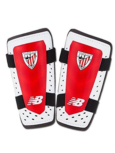 New Balance AC Bilbao 2017-2018 Niño, Espinillera, Blanco-Rojo ...