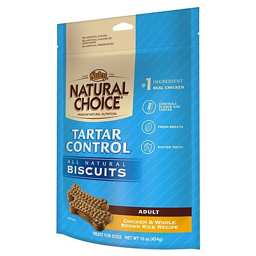 - NUTRO 791140 Natural Choice Tartar Control Biscuits for Dogs, 32-Ounce