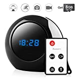 Best Toughsty View Security Cameras - Toughsty™ 8GB Portable Hidden Camera Alarm Speaking Clock Review