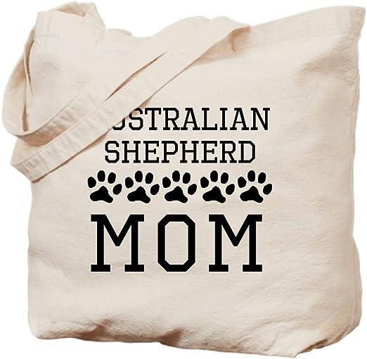 Natural Canvas Tote Bag Pug Mom Cloth Shopping Bag CafePress