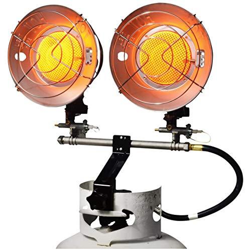 - Mr. Heater 30,000 BTU Sunrite Double Tank Top Heater