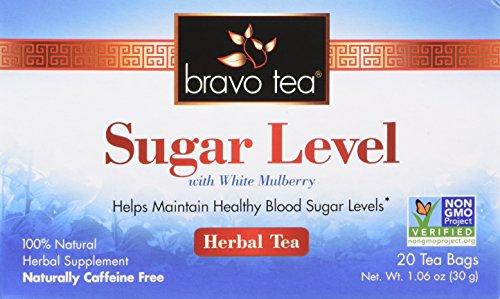 Bravo Teas Sugar Level with White Mulberry, 20 Tea Bags ()