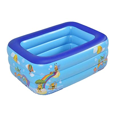 Kids Pool PVC Thickened Abrasion Resistant Inflatable Kiddie Pool Thick Wear-Resistant Marine Swimming Pool for Kids Swimming Pools for Garden,Backyard, Summer Water Party: Arts, Crafts & Sewing