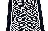 Dean Tanzania Onyx Zebra Nylon Carpet Runner Rug 27-Inch Width