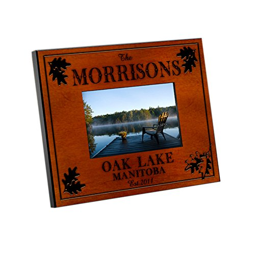 Personalized JDS Gifts Home Decorative Cabin Series Traditional Frame