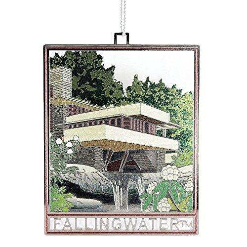 Frank Lloyd Wright Fallingwater Christmas Ornament