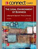 img - for Connect Access Card for Legal Environment of Business, A Managerial Approach: Theory to Practice book / textbook / text book
