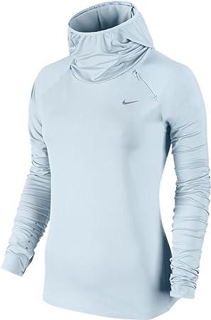 Nike Element Hoody Sudadera, Mujer, Azul (Glacier Blue), L: Amazon.es: Deportes y aire libre