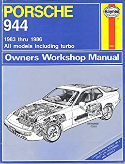 porsche 944 owners workshop manual all porsche 944 models rh amazon com Porsche 944 Owners ManualDownload Porsche 944 Manual Steering Rack