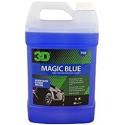 Magic Blue - Solvent Based Tire Dressing - 1 Gallon - California VOC Compliant