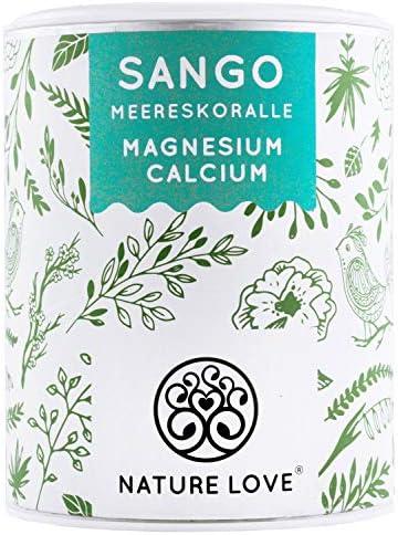 [Gesponsert]NATURE LOVE® Sango Meereskoralle - 250g Pulver. Natürliche Quelle für Kalzium (20%) und Magnesium (10%) im körpereigenen...