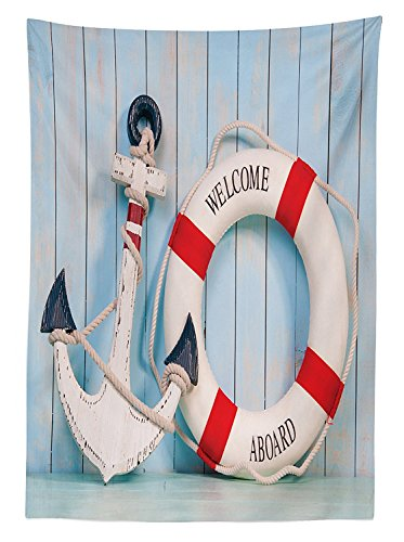 buoy-decor-tablecloth-anchor-and-striped-life-buoy-siding-vertical-on-shabby-wall-boards-classic-sty