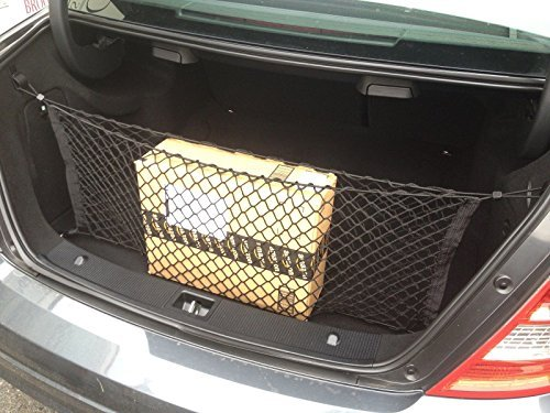 Envelope Trunk Cargo Net for Mercedes Benz Coupe Sedan C250 C300 C350 C400 C63 ()