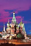 St. Basil's Cathedral, Moscow 1000 Piece Glow-in-the-Dark Puzzle