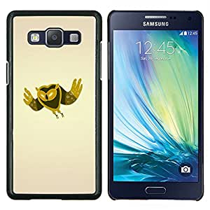 "Be-Star Único Patrón Plástico Duro Fundas Cover Cubre Hard Case Cover Para Samsung Galaxy A5 / SM-A500 ( Minimalista Búho"" )"
