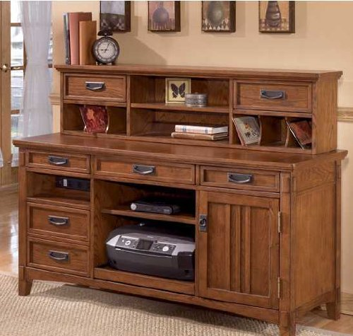 Amazon.com: Home Office Large Credenza Desk With Short