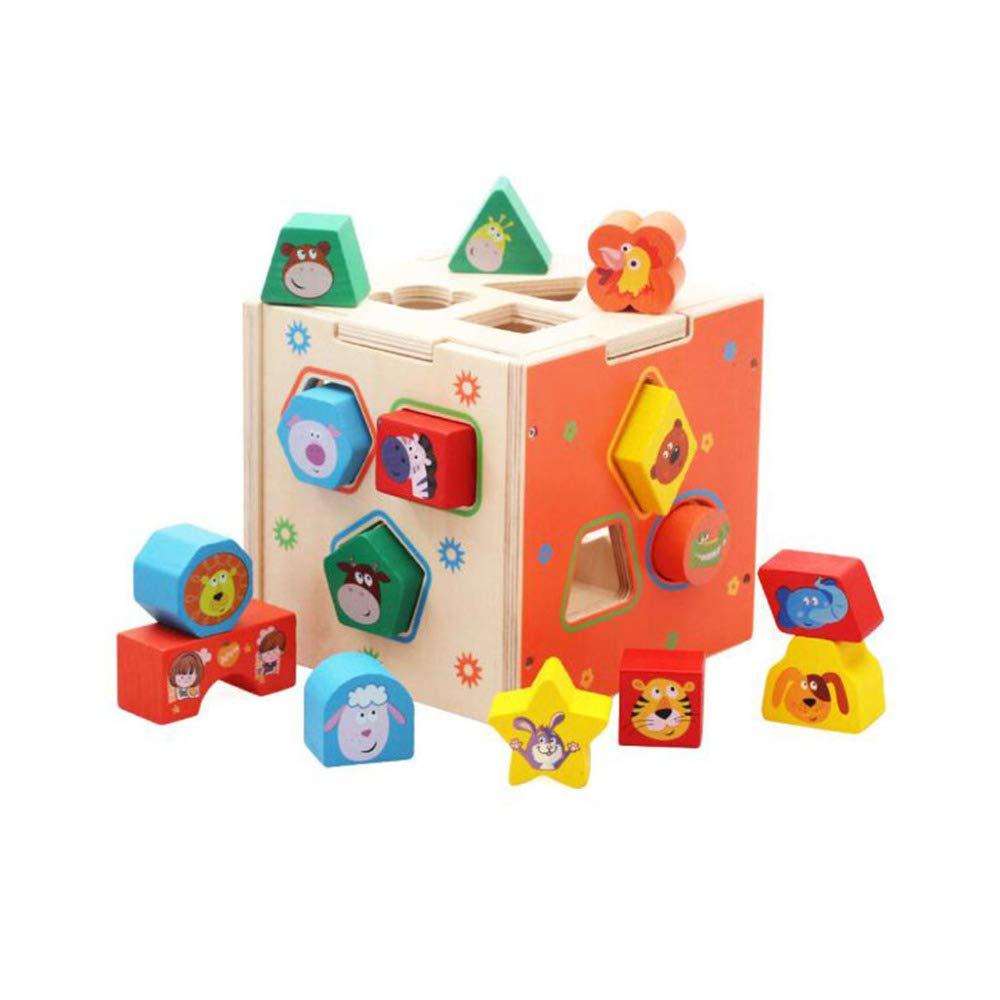 QXMEI Kinder Spielzeug Gebäude Puzzle Intelligenz Box Größe: 5,9 Zoll  5,9 Zoll  5,9 Zoll
