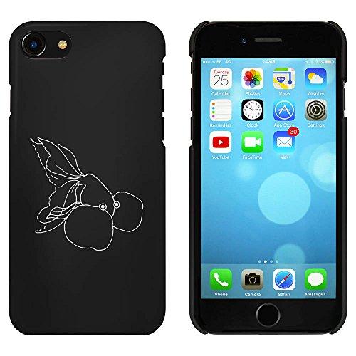 Noir 'Poisson Rouge' étui / housse pour iPhone 7 (MC00076713)