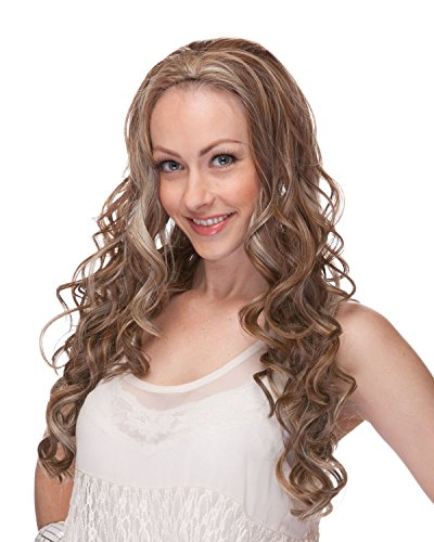 Sepia Synthetic Wig Hair (London 3/4 Synthetic Wig By Sepia T27/613)