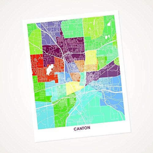 Amazon.com: Canton Ohio Art Map Print. Choose your Size and ... on map of edgerton ohio, map of dublin ohio, map of wells township ohio, map of alger ohio, map of northeast ohio, map of akron ohio, map of larue ohio, detailed map of ohio, map of toledo ohio, map of parkman ohio, map of newbury ohio, map of berlin heights ohio, map of new york, map of nashville ohio, map of black river ohio, map of bowersville ohio, map of williamsfield ohio, map of new holland ohio, map of findlay ohio, map of rittman ohio,